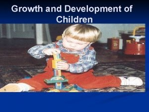 Growth and Development of Children APGAR scoring chart