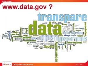 ITEM 1ITEM 2 www data gov Lefranois Gandon