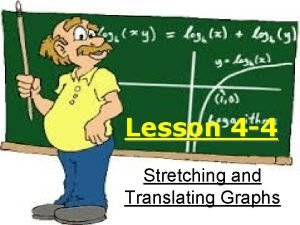 Lesson 4 4 Stretching and Translating Graphs Various