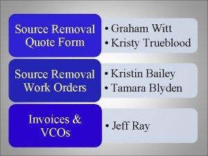 Source Removal Graham Witt Quote Form Kristy Trueblood