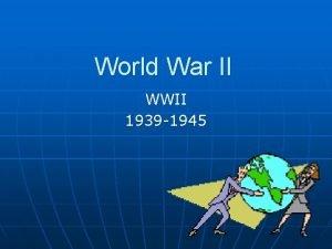 World War II WWII 1939 1945 Expanding Empires