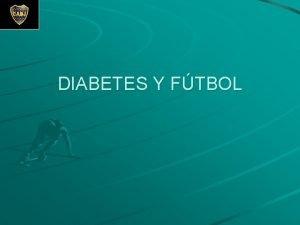 DIABETES Y FTBOL Concepto de Diabetes Conjunto de