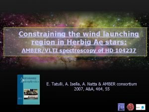 Constraining the wind launching region in Herbig Ae