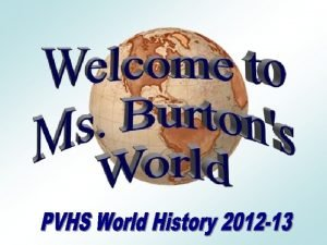 A bit about me Beth Burton Born and