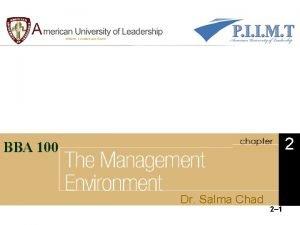 2 BBA 100 Dr Salma Chad 2 1