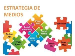 ESTRATEGIA DE MEDIOS Trminos bsicos en la estrategia