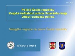 17 9 2020 Policie esk republiky Krajsk editelstv