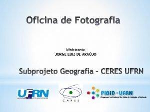 Ministrante JORGE LUIZ DE ARAJO A boa foto