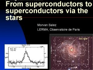 A long submm road From superconductors to superconductors