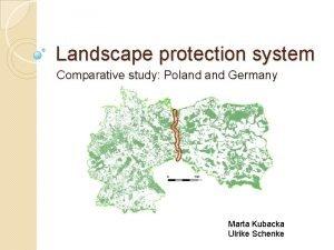 Landscape protection system Comparative study Poland Germany Marta