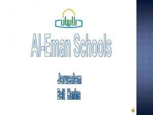 ALEMAN SCHOOLS MISSION AlEman Schools Mission focuses on