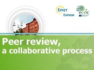 Peer review a collaborative process Peer review Wiki