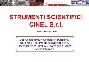STRUMENTI SCIENTIFICI CINEL S r l Vigonza Padova