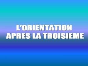 Lysiane Combes Conseiller dOrientationPsychologue COLLEGE AUGUSTIN MALROUX Au