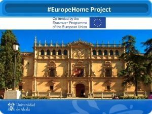 Europe Home Project Europe Home Local Hubs What