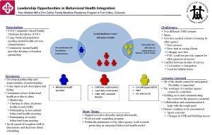Leadership Opportunities in Behavioral Health Integration Pam Webber