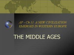 AP Ch 11 A NEW CIVILIZATION EMERGES IN