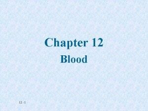 Chapter 12 Blood 12 1 Blood Smear Erythrocytes