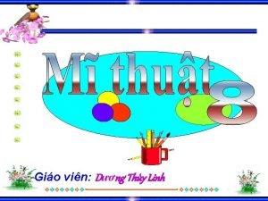 Gio vin Dng Thy Linh Ca khc c
