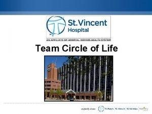Team Circle of Life Team Approach MultiDisciplinary Not