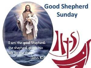 Good Shepherd Sunday Follow Me Follow me said