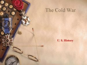 The Cold War U S History Yalta Feb