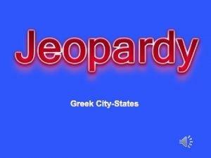 Greek CityStates Decline of the CityStates Athens Sparta