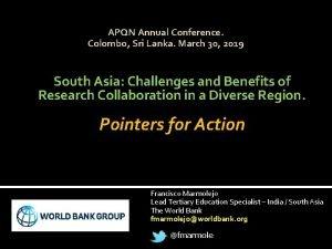APQN Annual Conference Colombo Sri Lanka March 30