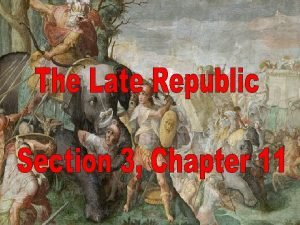 The Republic began to grow rapidly after 400