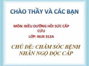 MN IU DNG HI SC CP CU LP