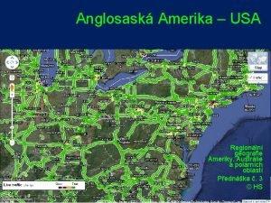 Anglosask Amerika USA AMERIKA SG Regionln geografie Ameriky