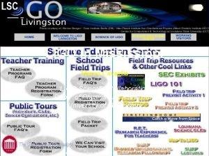 LIGO in Mississippi Marco Cavagli LIGO Scientific Collaboration