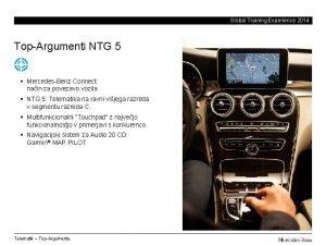 Global Training Experience 2014 TopArgumenti NTG 5 MercedesBenz
