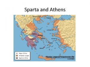 Sparta and Athens Tyranny in the City States