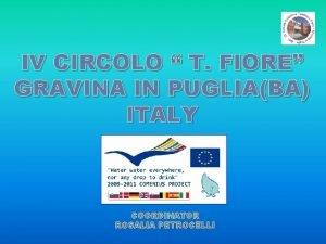 IV CIRCOLO T FIORE GRAVINA IN PUGLIABA ITALY