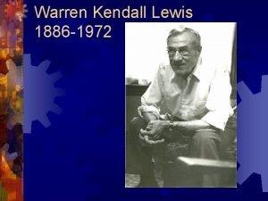 Warren Kendall Lewis 1886 1972 Spring Garden Farm
