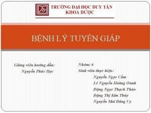BNH L TUYN GIP Ging vin hng dn