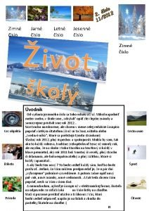 slo 2 2012 11 Zimn slo Jarn slo