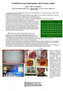 Correlazione tra ipotransferrinemia e ulcere cutanee croniche Crisci