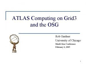 ATLAS Computing on Grid 3 and the OSG