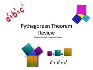 Pythagorean Theorem Review A fire truck is using