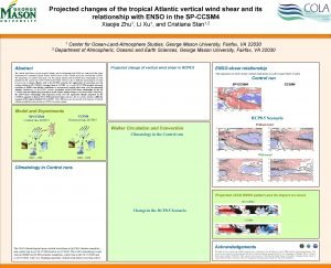 Projected changes of the tropical Atlantic vertical wind