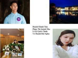 Hunh Khnh Tm Phm Th Qunh Nh L