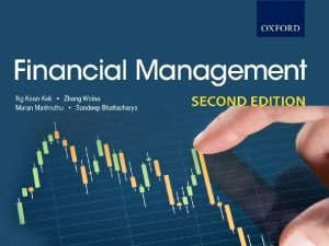Financial Management SECOND EDITION Oxford Fajar Sdn Bhd
