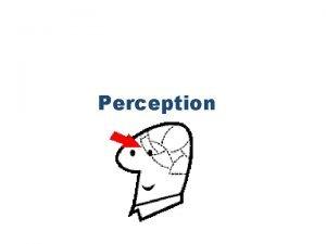 Perception Perception Perception refers to the interpretation of