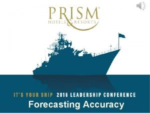Forecasting Accuracy Forecasting The ultimate resource for anticipating