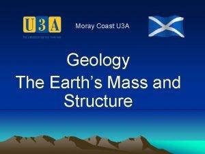 Moray Coast U 3 A Geology The Earths