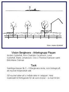 Skiss Anders Gyllerfelt Vision Bergkvara Arbetsgrupp Playan Anders