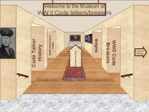 Welcome to the Museum of Native Americans Roles