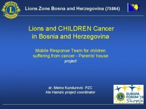 Lions Zone Bosna and Herzegovina 75864 Lions and